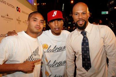 Chad Hugo, Pharrell, & Common