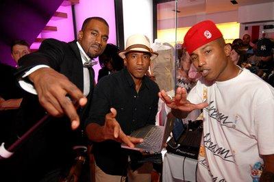 Kanye Q-Tip Pharrell
