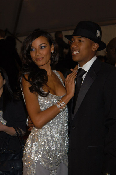 Nick Cannon & Girlfriend
