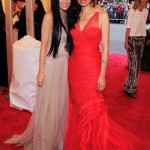 Vera Wang and Wendi Murdoch Both wearing Vera Wang